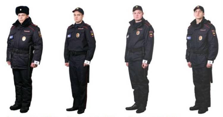 Приказ мвд по форменному обмундированию полиции